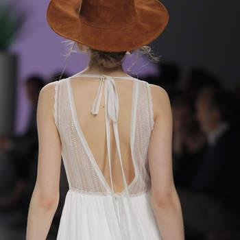 70 Vestidos de novia con escote en la espalda 2017: ¡Prepárate para lo mejor!