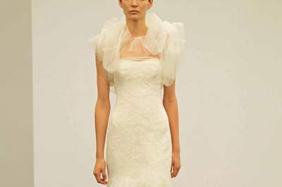 Vestidos de novia Vera Wang otoño 2013