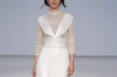 Jose Maria Peiró 2017: diseños especiales para novias únicas. ¡Descúbrelos!