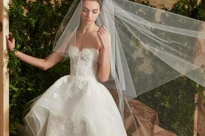 30 spektakuläre Brautkleider für schlanke und dünne Frauen 2017