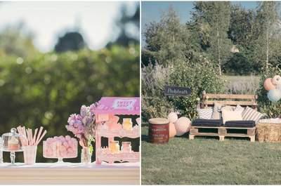 Décoration de mariage en plein air 2017 : Prenez un bol de fraîcheur !