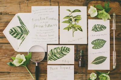 Pantone Trendfarbe 2017 – Hochzeiten in diesem Jahr im zarten Grünton Greenery feiern