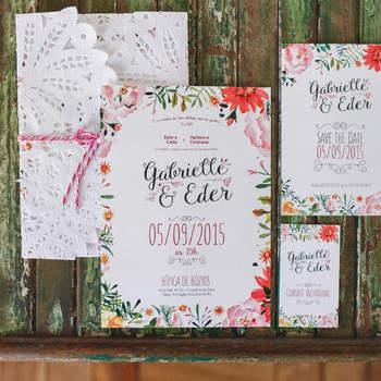 Convites de casamento: 40 modelos lindos para todos os estilos!
