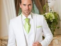 Johann : costumes, redingotes et accessoires pour un marié top chic
