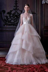 Robes de mariée à décolleté transparent 2016