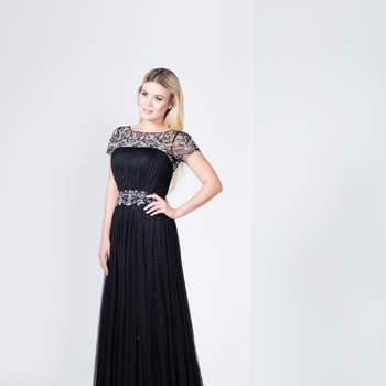 Glänzen Sie in einem der neuen Festkleider von Mery's Couture 2017 – Glamour & Extravaganz auf ganzer Linie
