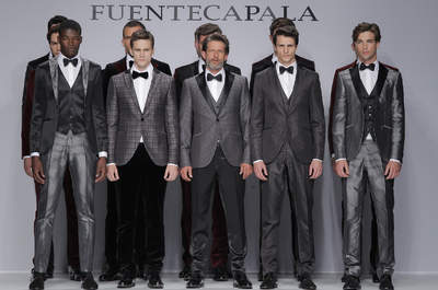 Trajes de noivos da coleção Fuentecapala 2014