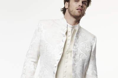 Création Morgan : Élégance et singularité pour des costumes de mariés à la qualité inouïe