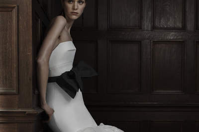 Vestidos de novia Vera Wang 2016: atrevimiento y sofisticación