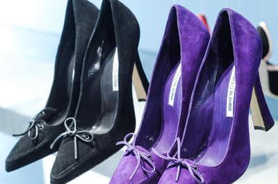 Manolo Blahnik 2015, los zapatos perfectos para una novia atrevida