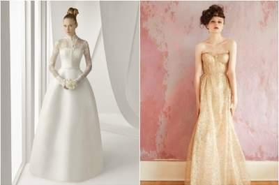 Spose senza curve? Scoprite i tagli ideali per il vostro abito da sposa