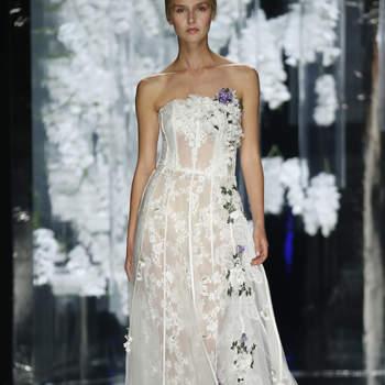Vestidos de novia con encaje 2016: El tejido nupcial por excelencia