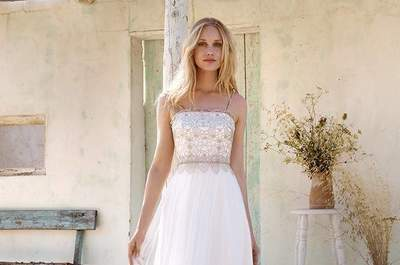 Vamos falar da última tendência em vestidos de noiva? Optem por um