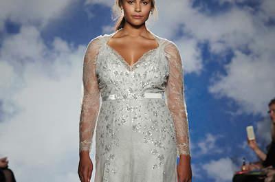 Long-Sleeved Spring and Summer Wedding Dresses 2015