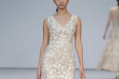 Vestidos de novia Hannibal Laguna 2017: Los clásicos regresan en preciosos diseños