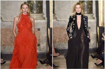 Milán Fashion Week con lo nuevo de su Colección Otoño-Invierno 2015-2016. ¡Para una invitada muy elegante!