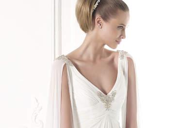 Pronovias 2015: los vestidos de novia con pedrería más chic