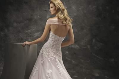 Soyez une mariée audacieuse avec ces robes de mariée de couleur 2016 !