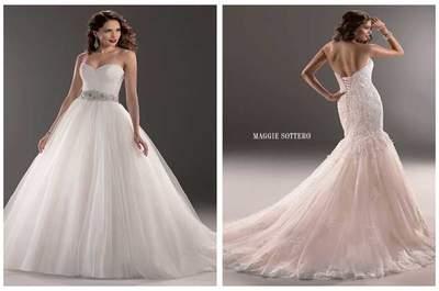 Vestidos de noiva maravilhosos e luxuosos de Maggie Sottero Classic Styles 2015