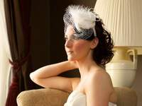 Six beautiful birdcage veils for 2012 brides