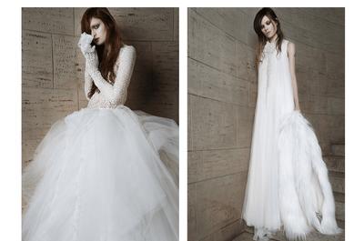 Un hada nupcial: Los vestidos de novia primavera 2015 de Vera Wang ¡son un sueño!