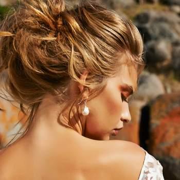 Sweet, Loose Bridal Hairstyles 2015