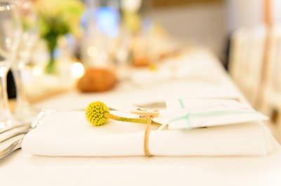 Les 10 idées les plus créatives pour des menus de mariage sensationnels en 2016