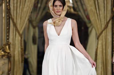 Vestidos de novia sencillos 2017: Porque menos es siempre ¡mucho más!