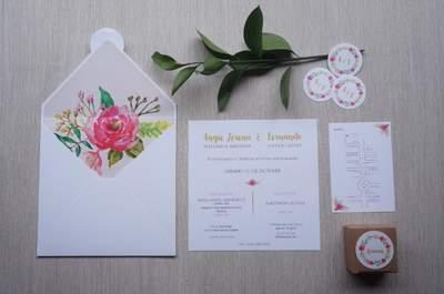Las 3 mejores empresas para invitaciones de boda en Cali