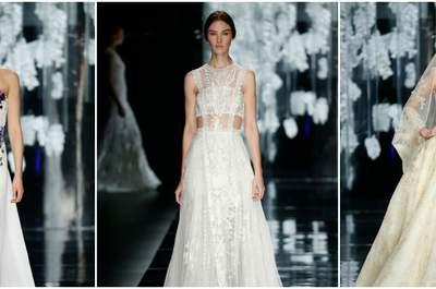 Vestidos de noiva YolanCris 2016: deslumbrantes!