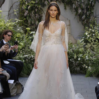 Discover the 2017 Monique Lhuillier Wedding Dress Collection: Glamour For The Modern Bride