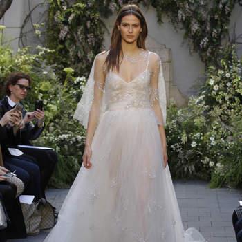 Vestidos de novia Monique Lhuillier 2017: elegancia y glamour en diseños de ensueño