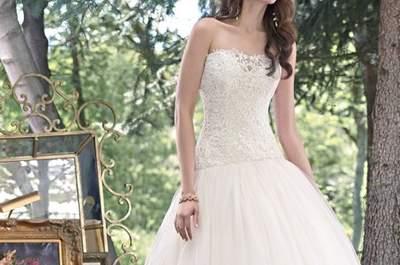 Vestidos de noiva para mulheres magras 2016: favorecedores e divinos!
