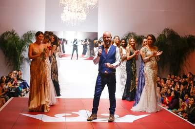 Desfile de vestidos de noiva e festa Samuel Cirnansk no Luxo de Festa 2015