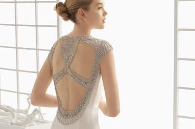 Vestidos de noiva com pedraria para 2016 que fazem brilhar uma noiva!