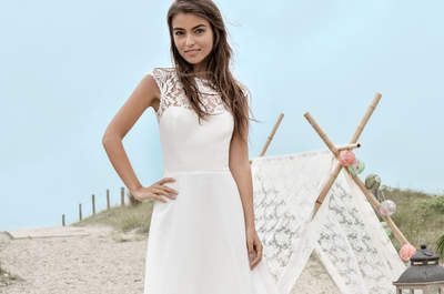 Robes de mariée Fabienne Alagama 2017 : fraîcheur et sensualité pour une collection ultra-féminine