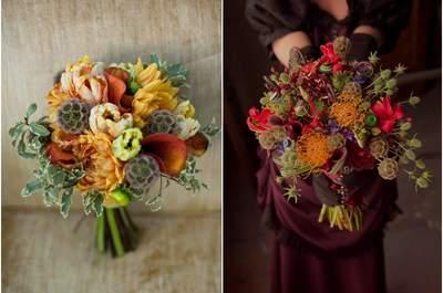 Bouquet De Mariage Saison Automne : Id�es de bouquets mariage sans fleurs