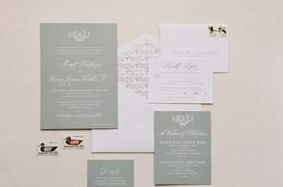 Invitaciones de boda ideales y para todos los gustos