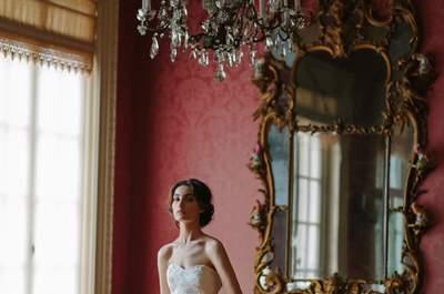 Sareh Nouri Fall 2016 Bridal Collection Fashion Editorial