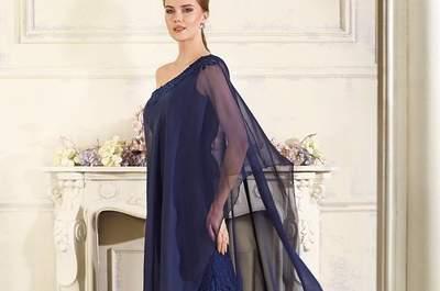 Más de 70 vestidos de fiesta azules 2017. ¡Un tono elegante y versátil!