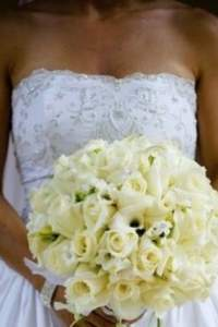 Bouquets de mariée blancs