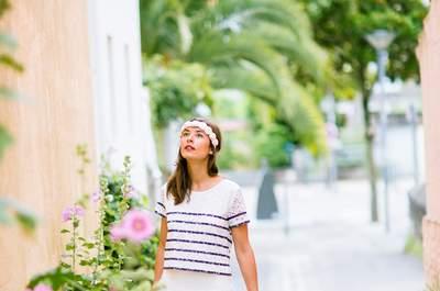 Robes de mariée Leutellier Tesson 2017 : le plein de couleurs et de soleil!