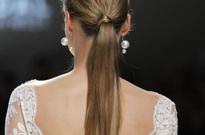 Descubre los peinados de novia 2017 que te maravillarán. ¡Tienes que verlos!