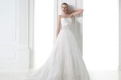 Entre rêve et fantaisie, Pronovias nous surprend encore avec sa nouvelle Collection 2015 de robes de mariée !