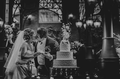 Los 60 besos de boda más románticos ¡de la historia! ¿Lista para suspirar?