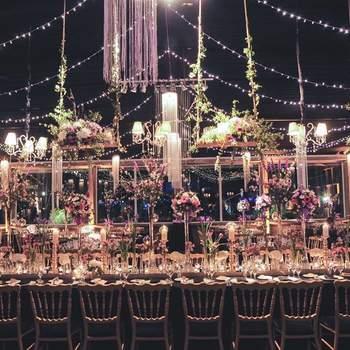 Guirnaldas de flores para decorar tu matrimonio. ¡Ideas novedosas!