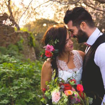 Une inspiration gypsy chic pour votre mariage? Inspirez-vous de ce superbe shooting !