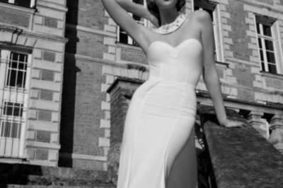 ¿Te atreves a llevar un vestido de novia fuera de lo común? ¡Acá te dejamos 40 ideas!