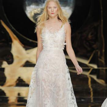 Vestidos de novia línea A 2017: 40 diseños para lucir una figura estilizada y entallada