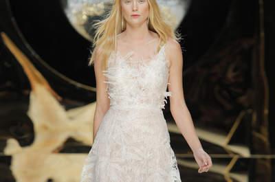 40 vestidos de novia línea A 2017: el corte que sienta bien a todas